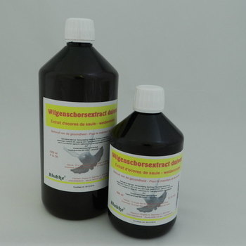 Wilgenschors extract duiven - 1000 ml