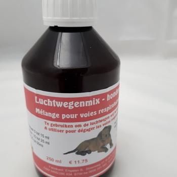 Luchtwegenmix honden - 250 ml