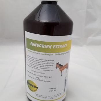 Fenegriek extract paarden - 500 ml