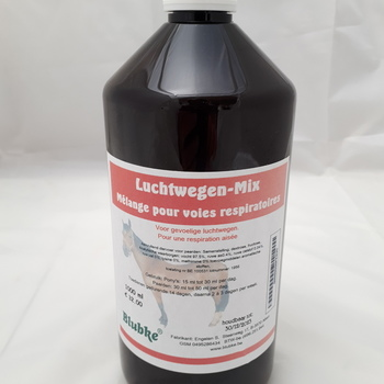 Luchtwegenmix paarden - 1000 ml