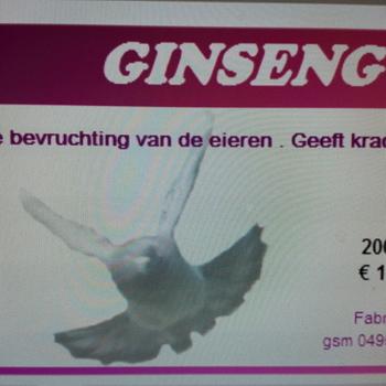 Ginseng duiven - 200 ml