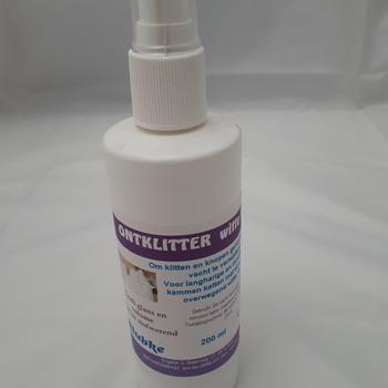 Ontklitter witte katten - 200 ml