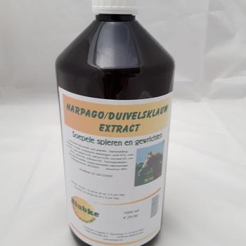 Duivelsklauw / Harpago extract paarden - 1000 ml