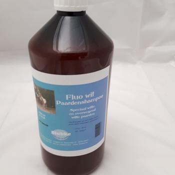 Shampoo extra wit paarden - 1000 ml