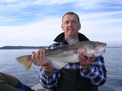 Lokgeuren voor de visser